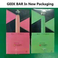 Geek Bar одноразовые электронные сигареты 575 Puffs Vape Device 500 мАч Батарея 2.4 мл предварительно заполненного стручка 15 Цветов 2% PAPOR E CIGS Geekbar