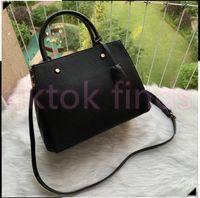 Designer Luxus Satchel Messenger Menbag Handtasche Taschen Leder Strim Griffe mit Schultergurt Crossbody Bag Französisch Womenbag N41056
