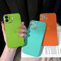 أزياء عالية الجودة الحالات النساء مصممين حالة الهاتف آيفون 12 برو 11 7 8 7P 8P X MAX XR