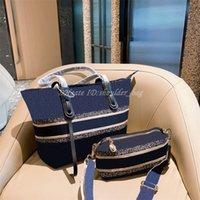 Bestickte Einkaufsschulter Verbundtasche Taschen Luxus Lash Packung Elegante Persönlichkeit Frauen Mode berühmte Handtasche Totes