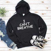 Women's Hoodies & Sweatshirts I Can't Breathe Letter Print Women Black Lives Matter Pullover Sweatshirt Tops Aesthetic Streetwear Movement C