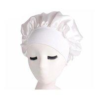 Femmes Bonnet Chemo Cap concepteur Durag Chapeaux Durags Satin Satin Satin Respirant Bandana Sleeping Turban Chapeau Womens Headwra Jlytt Yy_Dhhome