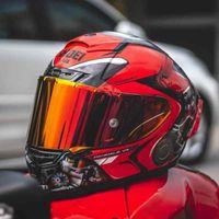 Casques de moto X14 Casque X-quatorze Panigale V4 Rouge Racing Casco de Motocicleta