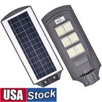 태양 광 가로등, 모션 센서 조명 제어가있는 LED 전원 램프 주차장 경로 뜰 및 정원 미국 재고 무료 배송