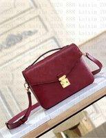 Novo 2021 Vuttton Luxurys Montaigne Mulheres Bolsa Messenger Bag Designers Crossbody Leather Metis Elegante Ombro Designer Sacos M44875 M41487