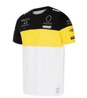 F1 Stagione Team Team Co-Branch Co-Branded Suit Auto Ventilatore Auto a maniche corte T-shirt Asciugatura T-shirt Car Club Voi CLUE CHE YOUHUI Logo Personalizzazione