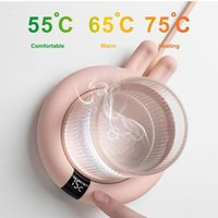 Home USB Heating Coasters Waterproof Warmer Gadget Tea Coffee Milk Office Kitchen Fast Heater Tools Cups & Saucers