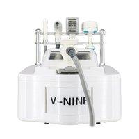 VSHAPE V9 Portable Vide Portable Rouleau d'élimination de la cellulite minceur Massage usine Price RF Cavitation ultrasonique Body Machine mince