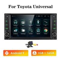 1G RAM Android RDS Multimedia Car DVD Player GPS para TOYOTA UNIVERSAL RAV4 COROLLA VIOS TERIOS LAND CRUISER 100 YARIS BT SWC ECT