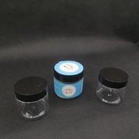 Vuoto 60ml 3.5G fiore secco bottiglia di plastica bottiglia di plastica contenitore di contenitore con adesivi trasparente pet jar barattolo blu sogno rosa rozay jungle boys