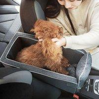 Kennels Stifte Auto Central Control Nest Matte Tragbare Hund Kennel Safety Seat Four Seasons Exklusiv für Haustiere
