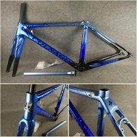 T1000 UD Matte brillant bleu noir avec bleu Logo Colnago C64 Carbon Road Cadres de vélo Vélo Frameet Carbon Road Cadre Taille 48/50 / 52/54 / 56cm