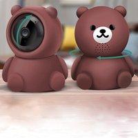 لطيف الدب الذكية 1080P اللاسلكية HD IP WIFI كاميرا 2021 مصنع العرض