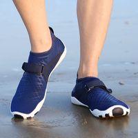 Fins & Gloves 35-46 Size Men Beach Shoes Women Outdoor Swimming Adult Flat Soft Seaside Non-slip Walking Couple Yoga