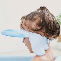Shampoo GLB verstelbare wasdouche hoed voor geboren baby oor bescherming kinderen bad vizier hoofd cover Leuke octopus schild