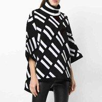 Vêtements de luxe Pull pour femmes pour femme Designer Pulls Casual Tricot Contraste Couleur à manches longues Computer Femme Jumperbx17