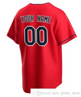 Custom Baseball Jersey blank shaping Cleveland Men Women Kids Youth jerseys name and number Top quality Sport Shirts