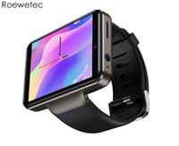 2021 DM101 4G Smart Watch GPS Двойная камера 2080mah аккумулятор прямоугольник экран Android SmartWatch 1 + 16G