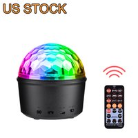 3 in 1 Sound Activated Party Lights LED Effects Night Wireless Speaker Ball Strobe Light with Remote Control&USB 9 Colors DJ Lights Stage Lighting for Home Festival