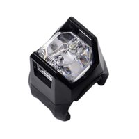 Bike Lights 1PC Black Bicycle Cycling Flashing Head Front Wheel LED Flash Light Lamp Rear Tail Clip Outdoor
