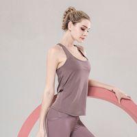 Mujer gimnasio deportivo chaleco de yoga fitness asfanchancia cruz sin espalda bras de respaldo camisa de yogas camisa para mujer chalecos deportes sin mangas camisas