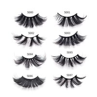 Pairs 5D Multi- layer Extended Thick Web Celebrity False Eyel...