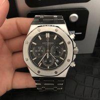 Armbanduhren didun uhr männer luxus stahl quarz business chronograph sport 30m wasserdicht