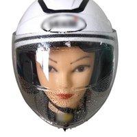 Motorcycle Helmets Transparent Visor Film UV Resistance Rainproof Anti-Fog Helmet Lens For Motorbike Shield