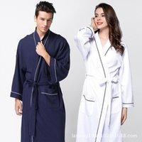 Kobiety Saree Prawdziwe sukienki Kobiety Saree American Pary Sprzedaje Szlafroki Miękkie Bawełniane Szlafrok DFF0224