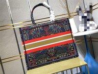 Borsa da borse per la spesa per borse da borse da stilista Esclusiva stile di pittura personalizzata grande capacità