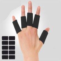 10 pz / set Pallacanestro Bande di Tally Bands Protezione Guardie Mano Protezione Cover Sport Protective Finger Cover di alta qualità 692 Z2