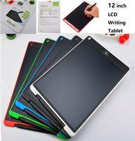 공장 가격 12 인치 LCD 작성 태블릿 디지털 드로잉 태블릿 필기 패드 휴대용 전자 태블릿 보드 울트라 씬 보드