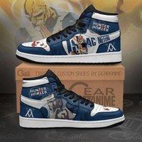 Customization Hxh Isaac Netero Sneakers Hunter x Hunter Anime Shoes