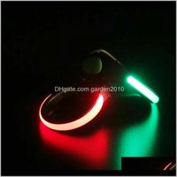 Other Event Festive Home & Garden Drop Delivery 2021 Shoes Glow Supplies Safety Warning Light For Running Party Favors Led Night Shoe Clips W
