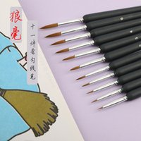 Painting Pens Langhao Line Drawing Stroke Oil Painting Brush Watercolor Pen Number Straight