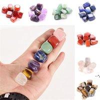 Natural Crystal Chakra Stone 7pcs Set Stones Palm Reiki Healing Crystals Gemstones Home Decoration Accessories NHD10421