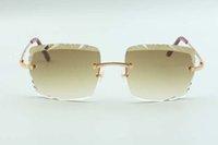 2021 أحدث نمط مبيعات مبيعات مباشرة عالية الجودة عالية الجودة عدسة النظارات الشمسية 3524020، المعابد الأسلاك المعدنية، الحجم: 58-18-135mm