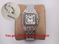 Moda pareja reloj medio tamaño 37 mm pequeño 30 mm de alta calidad importado acero inoxidable cuarzo damas automáticas diamante elegante con una variedad de colores