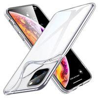 Telefon Kılıfları iPhone 12 Mini Pro Max 11x XS 8 7 6 Artı Durumda Temizle TPU Geri Yumuşak Kapak Ultra Ince