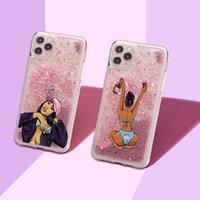 Quicksand Case Sparkle Floating Liquide Bling Bling Glitter Bumper pour iPhone X XR XS MAX 11 12 PRO 13 Filles Femmes Coques Couverture