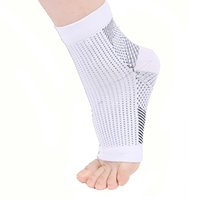 2021 Brand New Men Women Foot Circulation Swelling Relief Foot Sleeve Socks Foot Anti Fatigue Compression Varicosity Ankle Support Socks