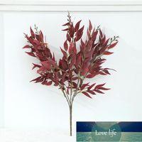 Decorative Flowers & Wreaths Faux Bouquet Fake Plants Artificial Willow Leaves DIY Wedding Foliage Decor Factory price expert design Quality Latest Style Original