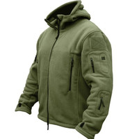 New Mens Military Tactical Outdoor Softshell Fleece Clothes Sports Army Sportswear Thermal Hunting Hiking Camping Hoodie Jacket