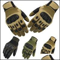 Schutzausrüstung Radfahren Sport Outdoorscycling Handschuhe Herren Tactical Carbon Fiber Hard Knuckle Outdoor Reiten Bergsteigen Tourismus Anti-C