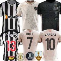 Top Atlético 2021 2022 Atletico Mineiro Soccer Jersey Diego Costa Manto da Massa 113 Special Edition Black 21 22 Fred Cazares Otaro Moura