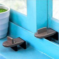 Carriers, Slings & Backpacks Window Sliding Door Baby Safety Lock Sash Stopper Doors Security Anti-theft