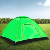 Tents And Shelters 1-2 Person Outdoor Automatic -Up Camping Tent Family Variety Of Easy-Opening Hiking Travel Ultra-Light Awning