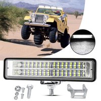 Work Light Bar Driving Lamp Portable Flood Lights For Outdoor Camping Hiking Emergency Car Repairing SUV Boat Truck LED Working