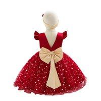 1-й день рождения платье для детских девочек