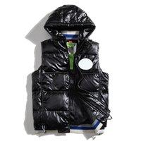 Канада в США стиль мужской фристайл реальный перо вниз зимний модный жилет Bodywarmer усовершенствованный водонепроницаемый ткань